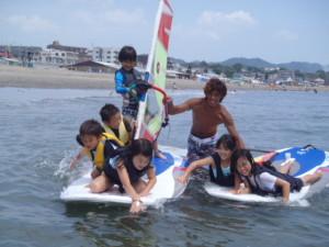 ウインドサーフィン+SUPスクール